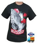BLESSED MONEY PRINTED SHORT SLEEVE TEE'S  100% COTTON