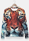 Tiger Fitted Waist Sweater Women