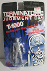 Terminator 2 Judgment Day T-1000 Silver Cop Action Figur on Card 1995 Toy Island