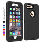 For Apple iPhone 7 8 Plus Case with Belt Clip Fits Otterbox DEFENDER SERIES