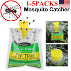 Fly Trap Non Toxic Disposable Outdoor Insect Killer Catcher Bag Pest Control X5
