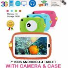 7 inch Tablet 16GB Camera Android 4.4 Tablet With Silicone Cover gift for kid XO