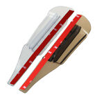 Внешний вид - 2x Car Truck Rearview Mirror Rain Blade Eyebrow Sun Visor Shade Guard Shield SH2