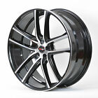 4 GWG Wheels 18 inch Black Machined ZERO Rims fits 5X114.3 ET40 FORD CROWN VICTO