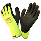 TOWA PowerGrab Thermo Lined Winter Work Glove - Lime 41-1400 - Choose Size