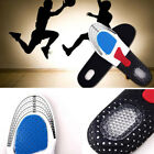 Men Unisex Foot Premium Insoles Pads Orthotic Arch Support Shoe Pads Massag