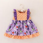 Toddler Infant Baby Girls Sleeveless Halloween Dress Dresses Outfit Clothes US