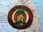 nam war patch , 1ST CAVALRY DIVISION 21ST ARTILLERY YOU THROW WE GO , vietna