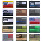 American Flag PVC Patches Tactical Military Clothes Hat Deco