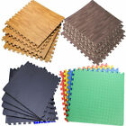 1200 PCS Interlocking High-Density EVA Foam Mat Floor Puzzle Tiles Gym Mat LOT