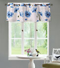 NEW 1PC VALANCE GROMMET LINED BLACKOUT WINDOW DRESSING NATURE PRINTED CURTAIN