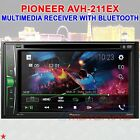 PIONEER AVH-211EX MULTIMEDIA RECEIVER BLUETOOTH iPHONE / ANDROID TOUCHSCREEN NEW