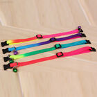 Fashion Pet Puppy Dog Cat Colorful Collar Bell Adjustable Cute Harness Safe