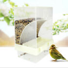 Automatic Plastic Bird Parrot Food Feeder Bowl Dispenser For Aviary Cage