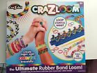 Cra-Z-Art, Cra-Z-Loom, the Ultimate Rubber Band Loom/ instructions and supplies