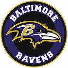 Baltimore Ravens Circle Logo Vinyl Decal / Sticker 5 sizes!!