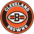 Cleveland Browns Circle Logo Vinyl Decal / Sticker 5 sizes!! on eBay