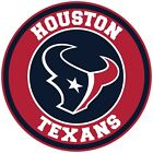 Houston Texans Circle Logo Vinyl Decal / Sticker 5 sizes!! on eBay