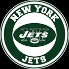 New York Jets Circle Logo Vinyl Decal / Sticker 5 sizes!!