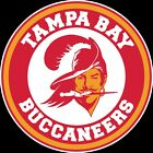 Tampa Bay Buccaneers Throwback Circle Logo Vinyl Decal / Sticker 5 sizes!!