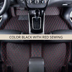SEAMETAL® Car Floor Mats Rugs Leather No Smell Auto Rug