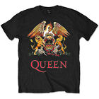 Queen Music T-Shirt Official Mens Band Tee Bohemian Rhapsody Crest Union Jack