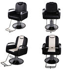 Barber Chair Salon Hydraulic Styling Hair Beauty Spa Shampoo Equipment Black