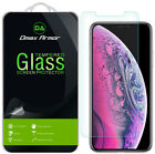 2-Pack Dmax Armor for iPhone X/ XS/ XR/ XS Max Tempered Glass Screen Protector
