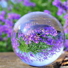 A12E Transparent Clear Solid Glass Artificial Crystal Ball Sphere Decoration Toy