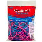 "Alliance, Advantage Rubbber Bands, #117B (7"" x 1/8"") File 4oz. Bag, Assorted..."
