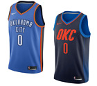 Oklahoma City Thunder Russell Westbrook Nike NBA Men's Icon Swingman Jersey on eBay