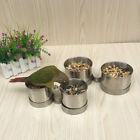 Pet Bird Food Feeding Drinking Hanging Cup Stainless Steel Hanger Cup