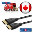 10ft 12ft 15ft 25ft 30ft High Speed HDMI Cable 1.4 Cable Audio/Video Gold-Plated <br/> Fast and free shipping from CANADA !!!