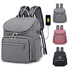 Kyпить Large Mummy Diaper Bag USB/Earphone Port Baby Nappy Travel Backpack Bottle Hold на еВаy.соm