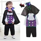 Baby Boy Girl Halloween Vampire Costume Dracula Fancy Party Dress Outfit Clothes