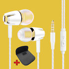 Super Bass In-Ear Kopfhörer Ohrhörer S9 Headset Earphone Headphone + Tasche