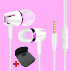 Super Bass In-Ear Kopfhörer Ohrhörer A4 Headset Earphone Headphone + PU-Tasche