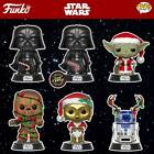 PRE-ORDER POP Holiday - Star Wars - Darth Vader, Yoda, R2D2, Chewbacca C-3PO ...