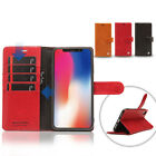 Pierre Cardin Genuine Leather Walllet Stand Shell Cover Case For Apple iPhone XR