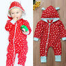 Newborn Baby Kids Boys Girls Jumpsuit Romper Bodysit Clothes Outfits Set HH