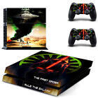 Vinyl Protect Game Cover Skin Stickers For Playstaion 4 PS4 Console Controller
