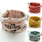 Внешний вид - Kids Soft Scarf Autumn Winter Boys Girls Cotton O Ring Neck Warm Scarves Bibs