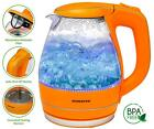 Ovente 1.5L BPA-Free Glass Electric Kettle Fast Heating Cord