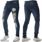 Men's Fashion Slim Fit Holes Jeans Chic Cowboy Pencil Skinny Casual Tight Pants
