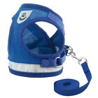 Pet Jacket Vest Harness Breathable Mesh With Leash Lead For Dog Cat Supply