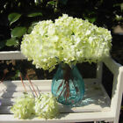 Decor Silk Flowers Arrangements Wedding Plants Hydrangea Bridal Craft Single
