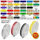 """12mm 1/2"""" PinStriping Pin Stripe Tape Car Motorcycle Double Line Vinyl Stickers"""