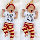 Harry Potter Child Baby Hat Bodysuits+Pants Set Romper Clothes Outfits Clothing