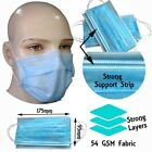 Disposable Face Mask 3 Ply Ear Elastic Loop Dust Odour Bacteria Protection Mask