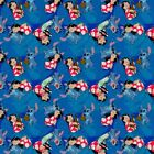 Disney Fabric - Lilo and Stitch - Friends Forever Blue - Cotton - Multiple Sizes